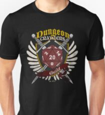 Dungeon Crawlers Guild - (Worn) Unisex T-Shirt