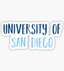 UNIVERSITY OF SAN DIEGO Sticker