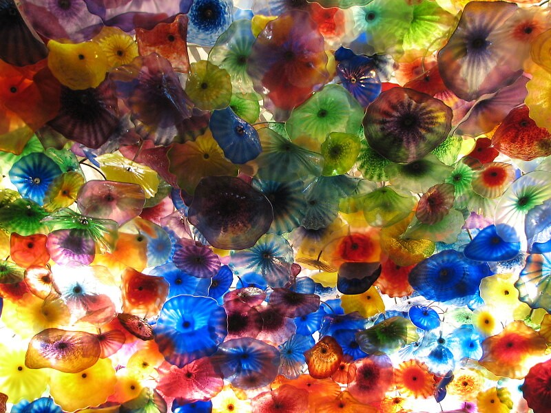 Glass Flowers by Deborah Stewart
