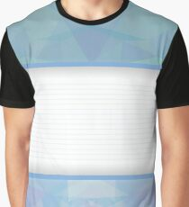 blue abstract background Graphic T-Shirt