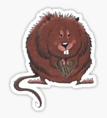 Muskrat Love Sticker