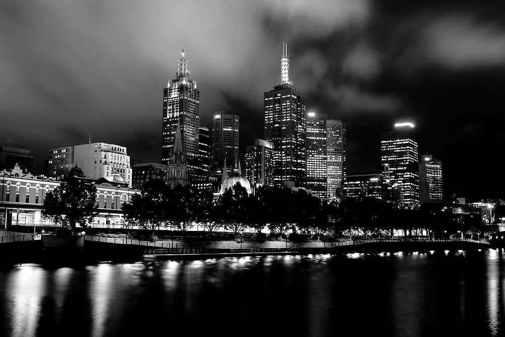 Southbank in Black and White by visage