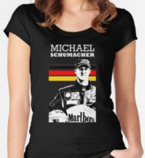 Michael Schumacher Germany - D Women's Fitted Scoop T-Shirt
