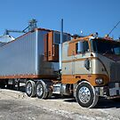 1975 Peterbilt Cab Over Semi Truck by TeeMack