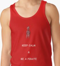 Keep Calm and Be a Pirate Men's Tank Top