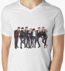 BTS Men's V-Neck T-Shirt