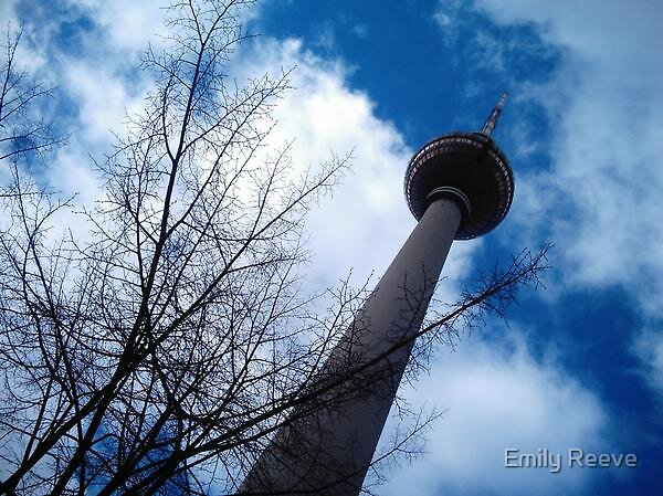 Berlin TV Tower by Emily Reeve