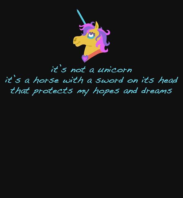 My Unicorn by swanathon