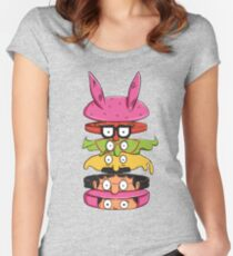 Burger Family Women's Fitted Scoop T-Shirt