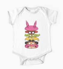 Burger Family One Piece - Short Sleeve