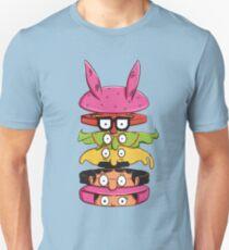 Burger Family Unisex T-Shirt