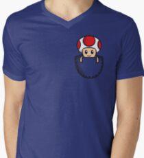 Pocket Toad Men's V-Neck T-Shirt