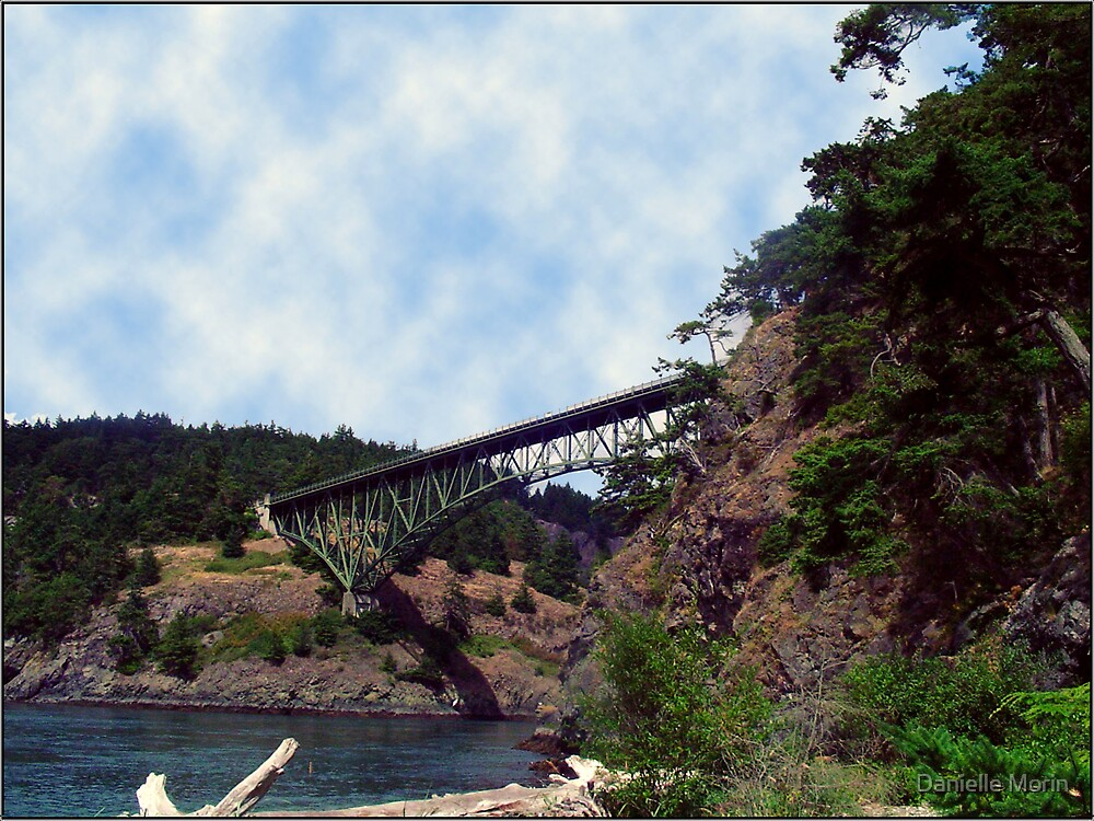 Deception Pass Bridge by Danielle Morin