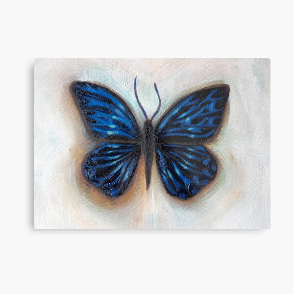 the influence of butterflies Metal Print