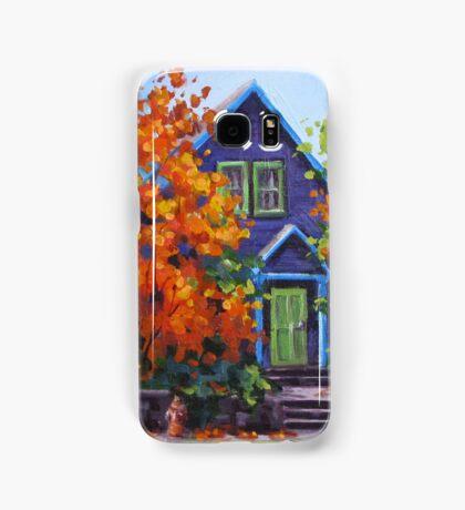 Fall in the Neighborhood Samsung Galaxy Case/Skin