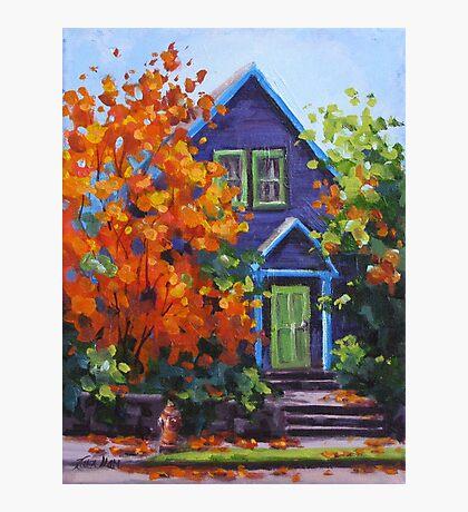 Fall in the Neighborhood Photographic Print