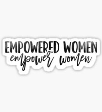 Pegatina Mujeres empoderadas, empoderar a las mujeres