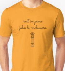 Rest In Peace John-Clock Unisex T-Shirt