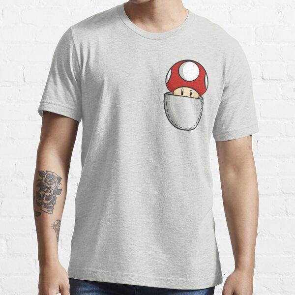 Pocket Mushroom Essential T-Shirt