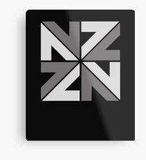 Nz Metal Print