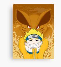 Naruto Uzumaki Canvas Print