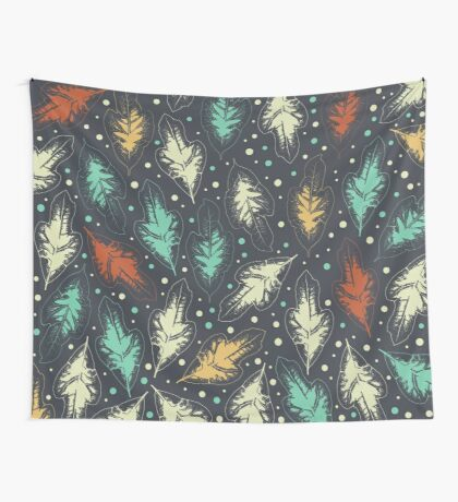 San Francisco Leaves Wall Tapestry