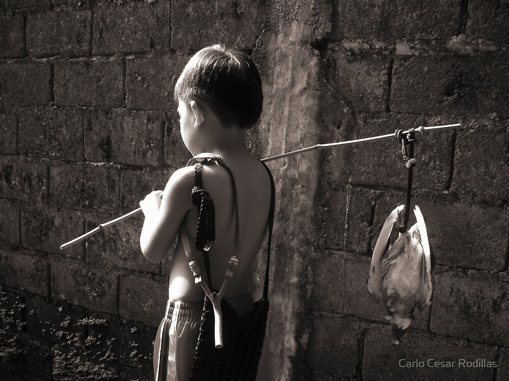 The Young Bird Catcher by Carlo Cesar Rodillas