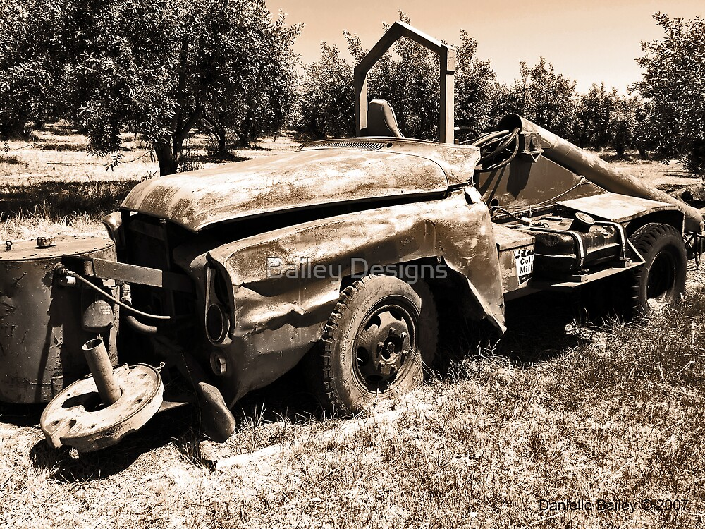 Old Truck by Bailey Designs