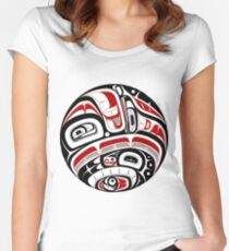 Northwest Tribal Art Women's Fitted Scoop T-Shirt