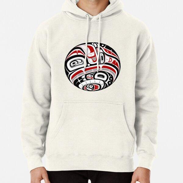 Northwest Tribal Art Pullover Hoodie