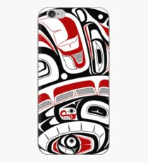 Northwest Tribal Art iPhone Case
