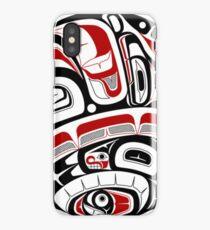 Northwest Tribal Art iPhone Case