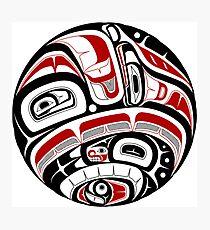 Nordwestliche Stammeskunst Fotodruck