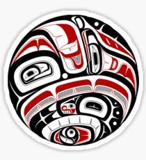 Northwest Tribal Art Sticker