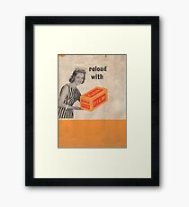 Reload with Kodak Framed Print
