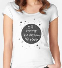 Labyrinth - Love Between the Stars Women's Fitted Scoop T-Shirt