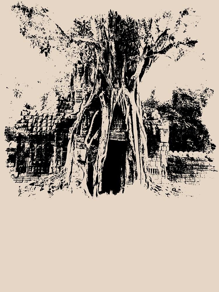 Ta Som Tree by Bern