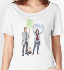 Fitzsimmons - Science March Women's Relaxed Fit T-Shirt