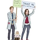 Fitzsimmons - Science March by eclecticmuse