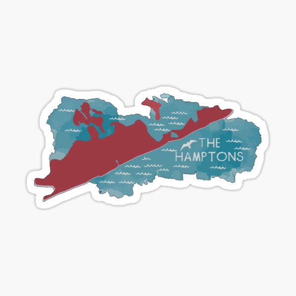 The Hamptons Sticker