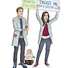 Fitzsimmons - Science March (With Title) by eclecticmuse