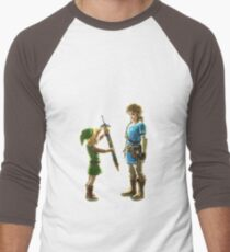 Old Link to New Link Men's Baseball ¾ T-Shirt