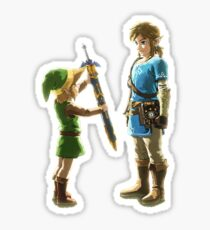 Old Link to New Link Sticker
