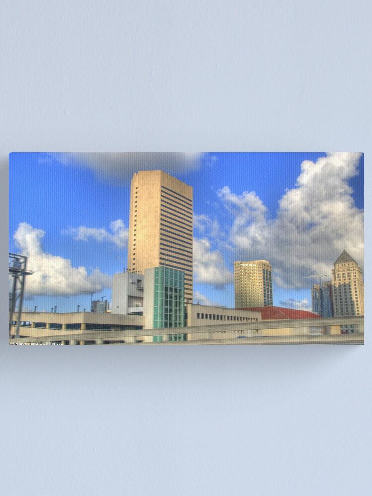 Alternate view of Downtown Miami - DSC_1552 Canvas Print