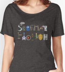Science Fiction Typography Women's Relaxed Fit T-Shirt