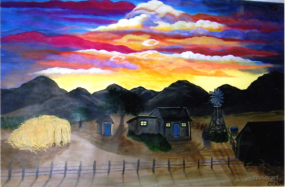 Sunset, oh my sunset!! by cruserart