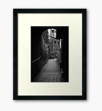 Alleyway Jerusalem Tavern Framed Print