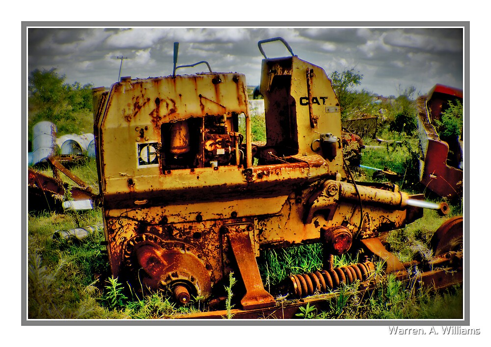 Bursting with Rust. by Warren. A. Williams