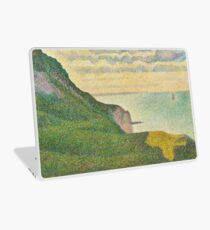 Georges Seurat - Seascape At Port-En-Bessin, Normandy 1888 Laptop Skin