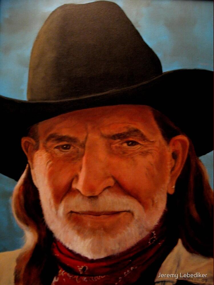Willie Nelson by Jeremy Lebediker